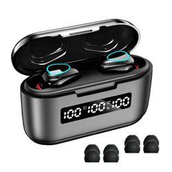 G40 Wireless Bluetooth 5.1 Earphones TWS Waterproof Sport Headsets 9D Sound Earbuds Gaming Headphones with Microphone