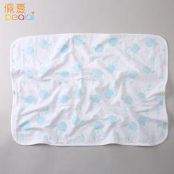 Gauze urine pad Newborn 30x45cm 100% Cotton infant Baby EVA Waterproof Print Bed Nappy Changing Sheet Mat Cover Mattress