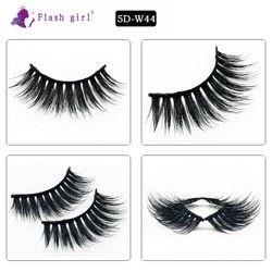 New Makeup 5DW44 Faux Mink Eyelashes Handmade Natural Long Mink Lashes Professional Natural Reusable Silk Lash Make Up Tools