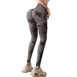High Waist Tummy Control Leggings Sport Women Fitness Yoga Pants Seamless Gym Push Up Tights Femme Scrunch Butt Sportswear