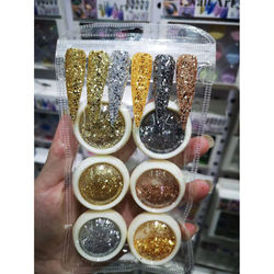Mermaid 3D Glitter Nail Flakes Hexagon Colorful Sequins UV Gel Polish Sparkly Powder Dust DIY Charm Glitter Flakes