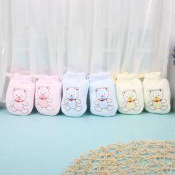 Lovely Baby Infant Boys Girls Anti Scratch Mittens Soft Newborn Gloves Gifts