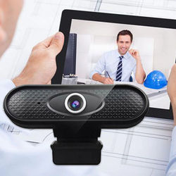 2021 New 1080P Webcam High Resolution Computer Peripherals Plastic Built In Microphone
