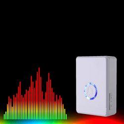 Long Range Wireless Doorbell Loudspeaker Home Entry Alarm Waterproof Door Bell Night Light 48 Ringtone US Plug