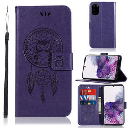 "Phone Case For Samaung Galaxy S20 Case Cover 6.2"" Owl Flip Leather Wallet Case For Samsung S20 Case For Samsung Galaxy S20 S 20"