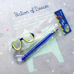 Children Snorkeling Diving Mask+Snorkel Set PVC High Quality 5 Colors Scuba Swimming Set Water Sports For Kid 3-8 Years old
