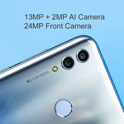 Honor 10 Lite 3GB 128GB Global Version Smartphone 6.2 inch 3400mAh Android 9 24MP Camera Mobile Phone Google Play OTA Update