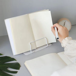 Portable Metal Adjustable Reading Book Holder Support Document Shelf Bookstand Eye Protection