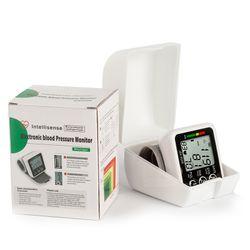 Wrist blood pressure monitor medical pulse heart rate pr voice cuff health care sphygmomanometer lcd digital bp meter