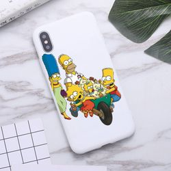 Homer J Simpson funny Bart Simpson Phone Case for iPhone 11 Pro Max X XR XS 8 7 6s Plus Candy white Silicone Cases