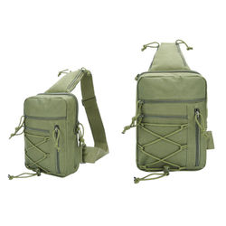 Tactical Chest Backpack Sling Military Bag Hunting Fishing Bags Camping Hiking Army Hiking Molle Shoulder Chest Phone BagXA252A