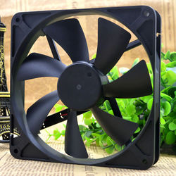 D14BH-12 135mm cooling fan 135X135X25mm 4-wire PWM 2500RPM DC 12V 0.35A For Yate Loon mute computer chaasis cpu cooling fan