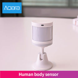 Aqara Wireless PIR Motion Detector Human Body Sensor Smart Body Sensor ZigBee MiHome APP Connection Security Home alarm System