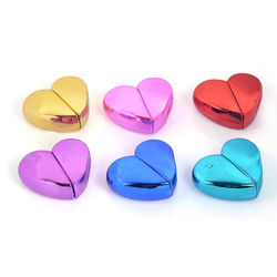 25ml Sweet Mini Love Heart Shaped Empty Perfume Bottles Refillable Spray Atomizer Travel Portable Ladies Cosmetic Container