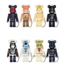 70% Bearbrick Pepsi Cola Action Figures Block Bear PVC Model Figures DIY Paint Dolls Kids Toys Children Birthday Gifts