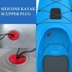 ELOS-12Pcs Universal Kayak Scupper Plug Kit for Native Kayaks Hobie Kayaks Wilderness Systems Kayaks Perception Kayaks