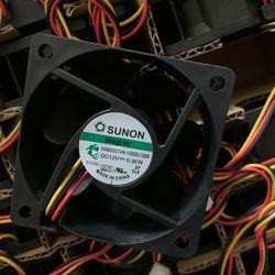 For Sunon HA60251V4-1000U-G99 6CM 6025 60mmX60X25 DC fan DC 12V 0.36W Maglev Low power mute silent fan