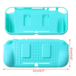 TPU Soft Case For Nintend Switch Lite Shockproof Protective Case Cover For Nintendo Switch Lite Grip Controller Card Slot Shell