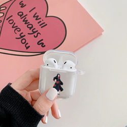 Hot Naruto Kakashi Hinata soft Silicone Bluetooth Wireless Earphone Case for Apple Airpods 2 1 Wireless Bluetooth Earphone Cover