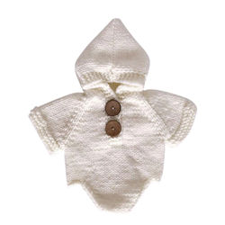 Newborn Outfit Photography Romper Crochet Clothes Baby Photo Props Costume
