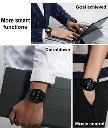 Brand i9 Sports Smart Watch Men Women Music Blood Pressure Heart Rate Monitor 3D speaker IP67 Waterproof Smart Watch