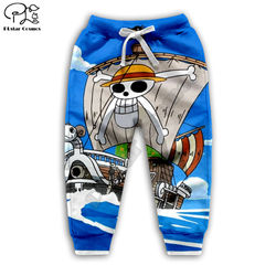 One piece 3d printed Hoodies Children zipper Pullover boys/girls Anime Sweatshirt Tracksuit Hooded/pants/family t shirt style-3