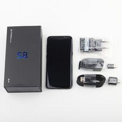 Samsung S8 Refurbished-Original Samsung Galaxy S8 SM-G950F 4G LTE 64GB 5.8 Inch Single Sim 12MP 3000mAh S-series phone