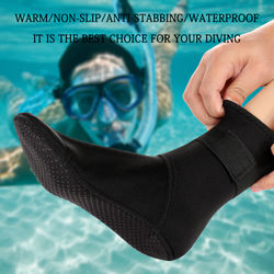 Diving Socks Swim Water Boots Warming Snorkeling 3mm Neoprene Diving Surfing Socks Non-slip Beach Boots Wetsuit Shoes For Adults