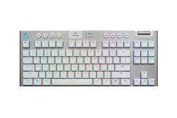 Logitech G915 Lightspeed Mechanical Gaming Keyboard (GL Linear) - White