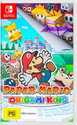 Paper Mario: The Origami King (Nintendo Switch) - Afterpay & Zippay Available