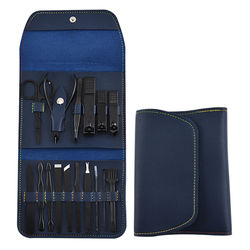 16-piece set of nail clippers, nail clippers, nail tools, folding bag type nail clippers set