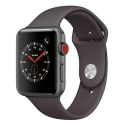 Apple Watch Series 3 Cellular Aluminium 42mm Grey - As New Condition