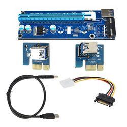 Astrotek PCI-E PCI Express 1x to 16x Adapter Riser Card Extension Power USB 3.0 - CB-PCIEPWREXTUSB
