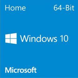 Microsoft Genuine Windows 10 Home 64Bit Full Version with DSP OEI DVD Disc & Key - KW9-00139