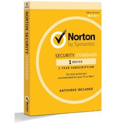 Norton Security Standard 1 Device for PC MAC Android iOS 1 Year Retail Box - 21369638