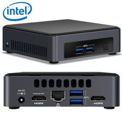 INTEL NUC mini PC i5-7300U 3.5GHz 2xDDR4 SODIMM M.2 SSD 2xHDMI 2xDisplays GbE LAN WiFi BT 4xUSB3.0 vPro 24/7 for Digital Signage POS