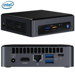 INTEL NUC mini PC i5-8259U 3.8GHz 2xDDR4 SODIMM M.2 SATA/PCIe SSD HDMI USB-C (DP1.2) 3xDisplays GbE LAN WiFi BT 6xUSB DS POS 3yrs - no power cord~Powe