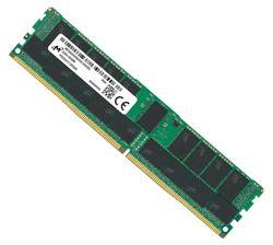 MICRON (CRUCIAL) 32GB (1x32GB) DDR4 RDIMM 3200MHz CL22 1Rx4 ECC Registered Server Memory 3yr wty
