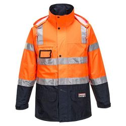 Transit Jacket D/N Orange/Navy XSmall Regular