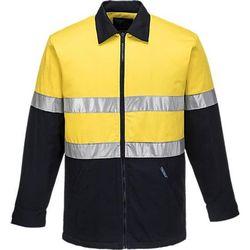 Quilt Padded Cotton Jacket D&N Yellow/Navy XXL Regular