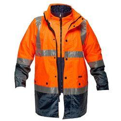 Hi-Vis 3in1 Jacket D&N Orange/Navy 5XL Regular