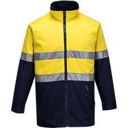 Cotton Drill Jacket D&N Yellow/Navy XXL Regular