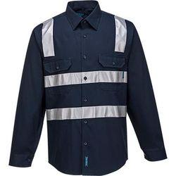 Cotton Shirt Long Sleeve Class N Navy 5XL Regular