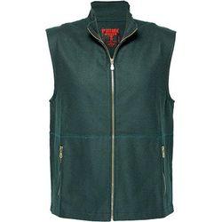 100% Wool Vest Green 3 XL Regular