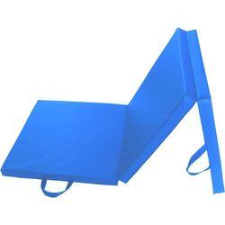 Verpeak Folding Exercise Floor Mat for Home Training Blue