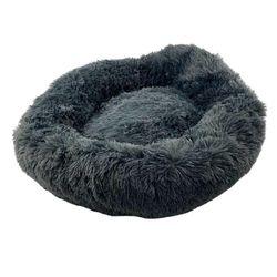 Floofi Dog Cat Pet Bed Colour Grand Soft Comfy Cute Round Plush Wash Ring Nest S/M/L