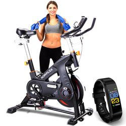 NORFLEX Spin Bike Flywheel Commercial Gym Exercise Home Workout Bike Fitness BK