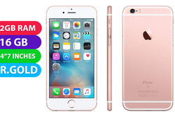Apple iPhone 6s (16GB, Rose Gold) - Grade (Excellent)