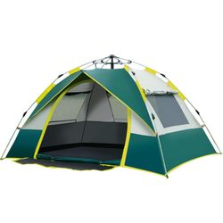 Pop up Camping Tent 3-4 Persons Double Layers