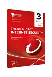 TREND MICRO Trend Micro Internet Security (1-3 Devices) 12mth Add-On
